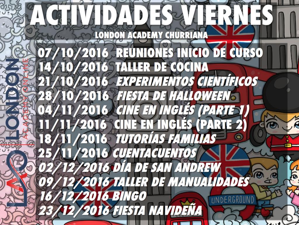 Actividades Infantiles Inglés Churriana